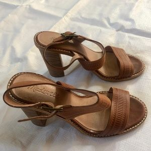 Madewell leather strappy sandals size 6.5